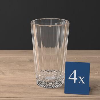 Opéra long drink glass 4-piece set