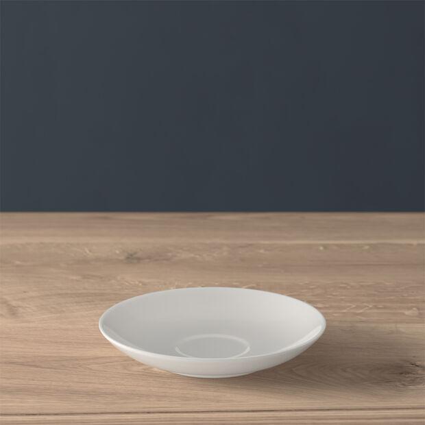 Twist White mocha/espresso cup saucer, , large