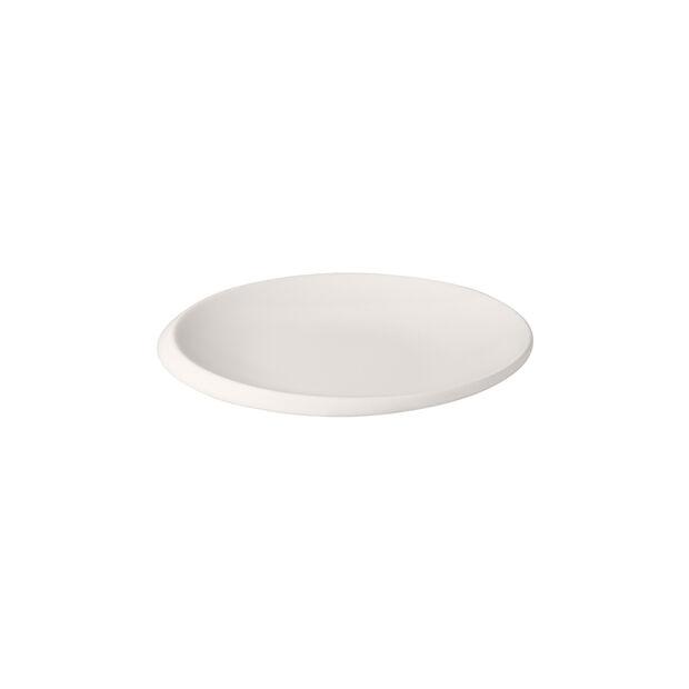 NewMoon bread plate, 16 cm, white, , large