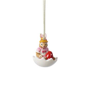 Bunny Tales ornament Anna in eggshell