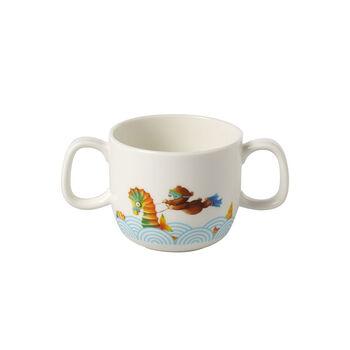 Happy as a Bear Children mug with 2 handles 140x80x70mm