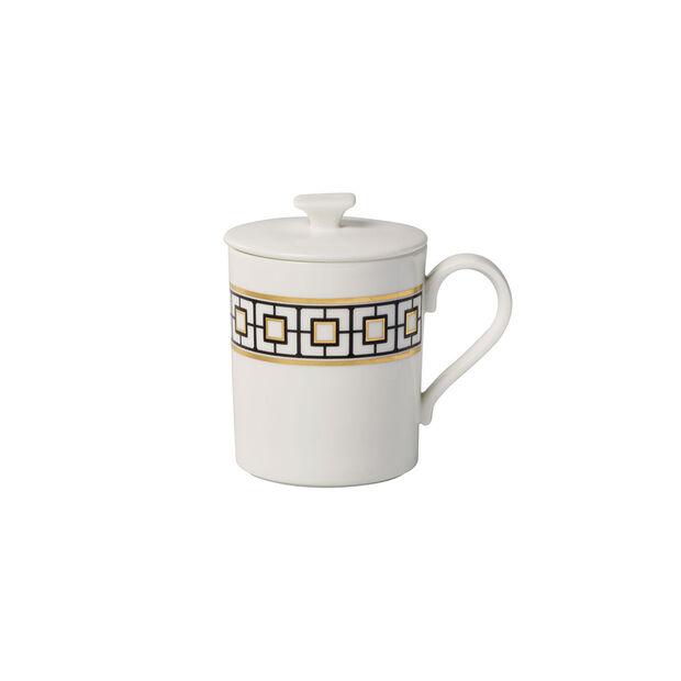 MetroChic Gifts Mug with lid 11,5x8,5x11cm, , large