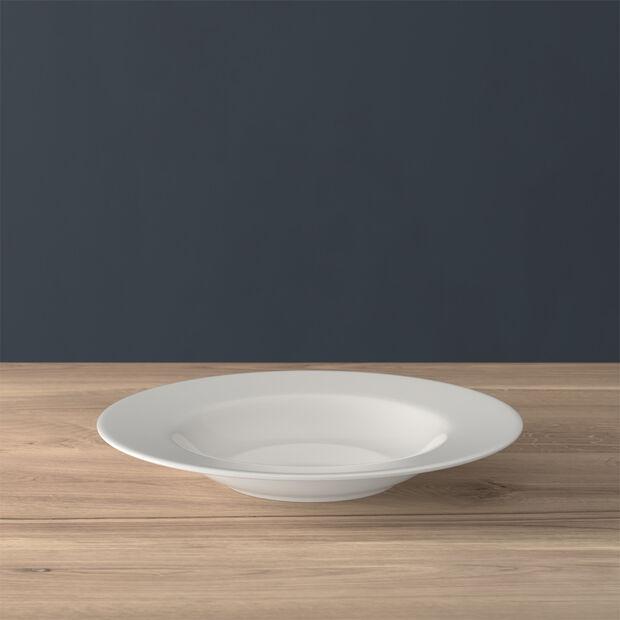 Twist White soup plate, , large