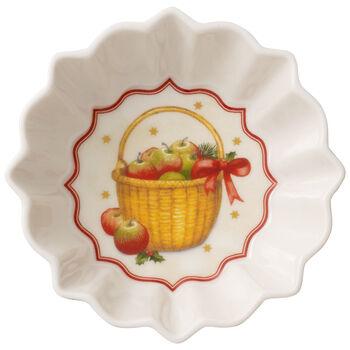 Toy's Fantasy apples bowl