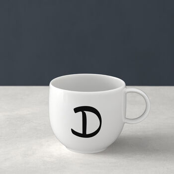 Letters Mug D 13x10x8cm