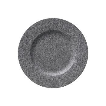 Manufacture Rock Granit dinner plate, 27 cm, Grey