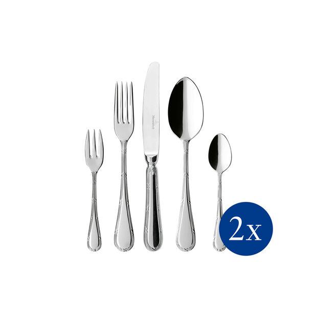 Kreuzband Septfontaines table cutlery 30 pieces 42 x 27 x 5 cm, , large