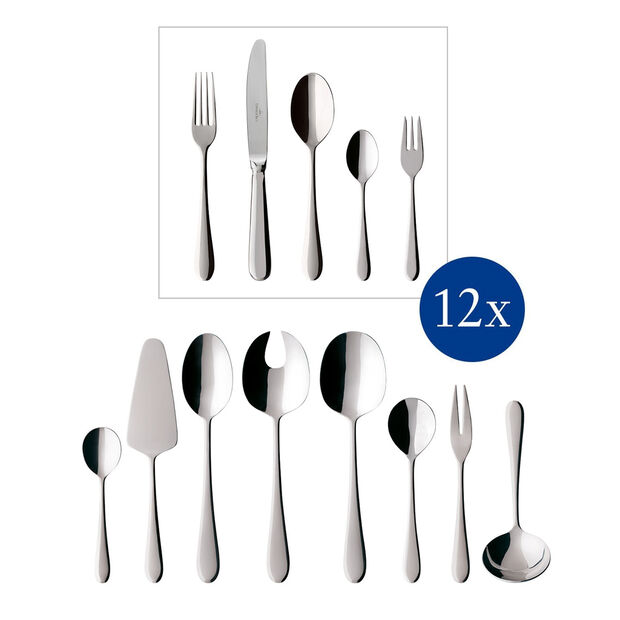 Oscar Cutlery set 68pcs 44x29x9cm, , large
