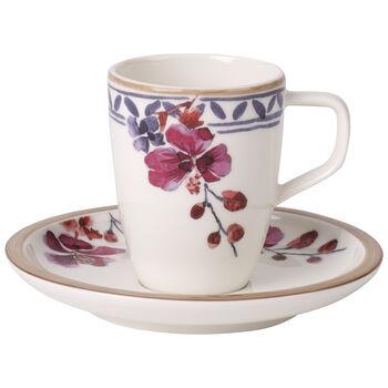 Artesano Provençal Lavender Espresso cup & saucer 2pcs