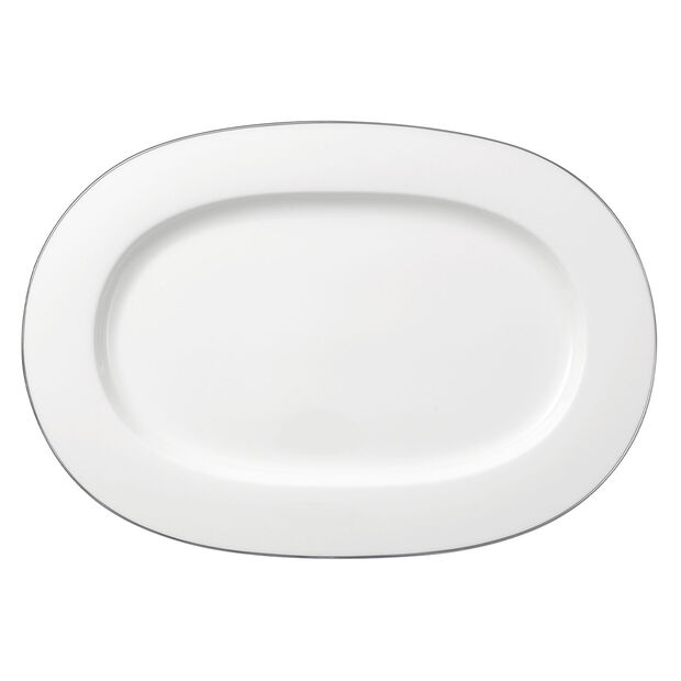 Anmut Platinum No.1 oval plat 41 cm, , large