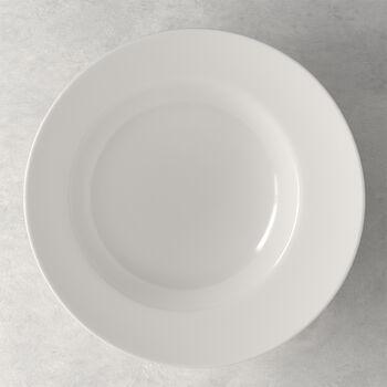 Flow pasta plate