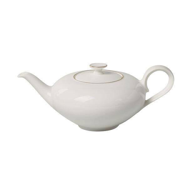Anmut Gold teapot, 1 l, white/gold, , large