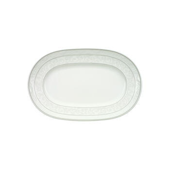 Gray Pearl Pickle Dish/Saucer sauceboat 22cm