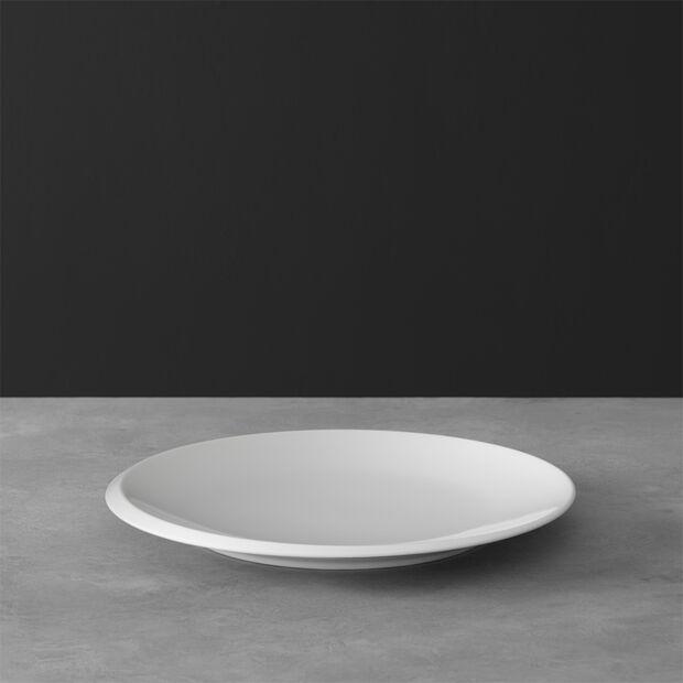 NewMoon breakfast plate, 24 cm, white, , large