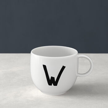 Letters Mug W 13x10x8cm