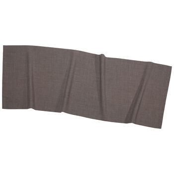Textil Uni TREND Runner graphit 50x140cm