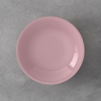 Color Loop Rose Deep plate 23x23x4cm