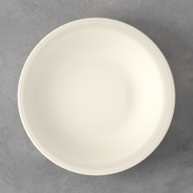 Color Loop Natural dinner plate 28 x 28 x 3cm, , large