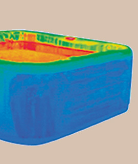 Energy efficiency through full foam insulation hot tubs